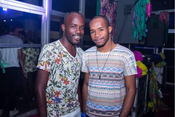 Damien Sundiata e Omar Anthony (Rômulo Juracy/Divulgação)