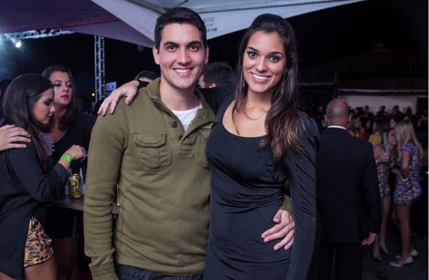 Felipe Wielewski e Liz Rocha (Romulo Juracy/Esp. CB/D.A Press)