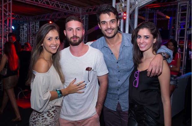 Juliana Alves, Alexandry Neves, Felipe Freitas e Liliana Nazzaro (	Romulo Juracy/Esp. CB/D.A Press)