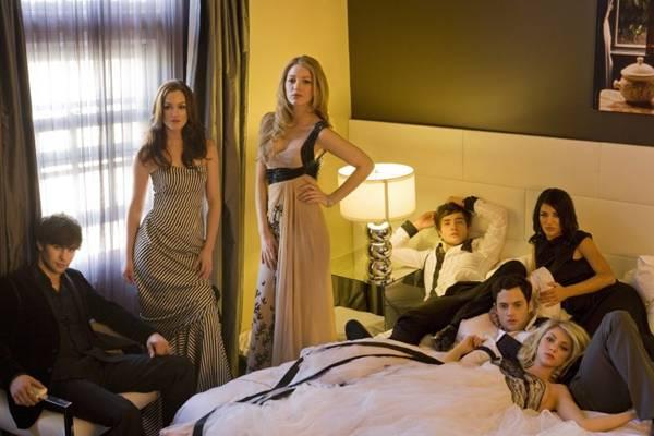 Gossip girl mostra a generosa realidade dos jovens do Upper East Side, em Nova York (Warner Channel/Divulgação)