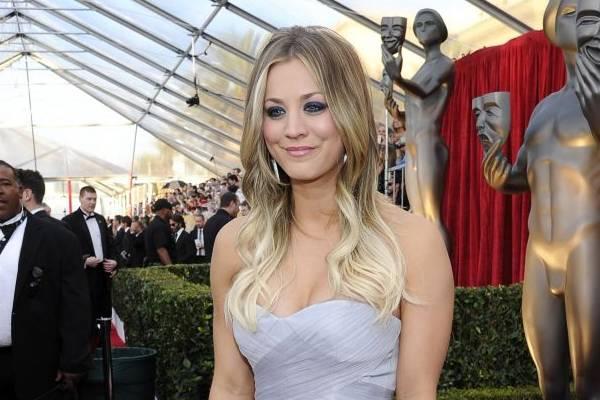 A atriz recebe US$ 350 mil por episódio de The big bang theory (Kevork Djansezian/Getty Images/AFP)