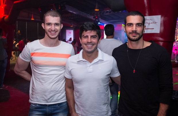 Fernando Pinta, Eduardo Mendonça e Carlos Naruch (Romulo Juracy/Esp. CB/D.A Press)