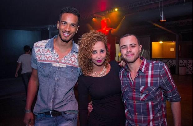 Guilherme Rabelo, Amanda Almeida e Guilherme de Souza (Romulo Juracy/Esp. CB/D.A Press)