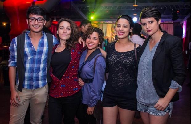 Renan Barbosa, Camila Marques, Bia Galvão, Carla Borges e Isabela Dutra (Romulo Juracy/Esp. CB/D.A Press)
