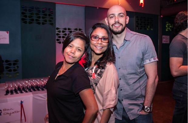 Gleice Amorim, Carla Santos e Leonardo Dias (Romulo Juracy/Esp. CB/D.A Press)