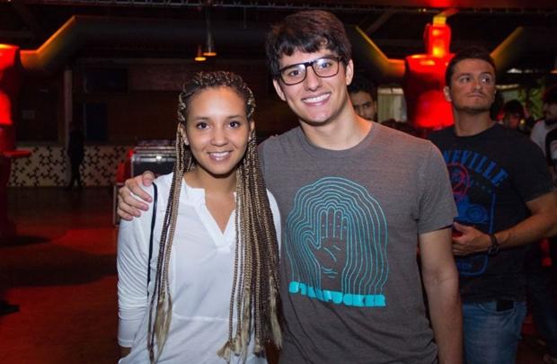 Jade Vargas e Matheus Nogueira (Romulo Juracy/Esp. CB/D.A Press)