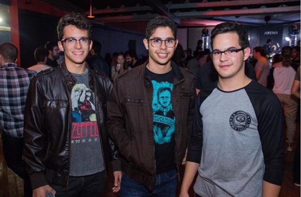 José Renato, Felipe Fonseca e Igor Teixeira (Romulo Juracy/Esp. CB/D.A Press)