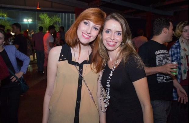Caroline Becker e Isabela Azevedo (Romulo Juracy/Esp. CB/D.A Press)