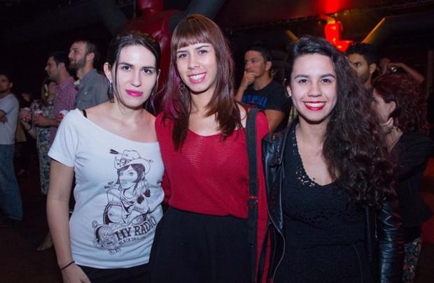 Maria Teresa, Lizandra Lira e Camila Medeiros  (Romulo Juracy/Esp. CB/D.A Press)