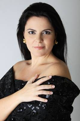A soprano Maíra Lautert interpretará clássicos da música erudita brasileira (UnB/Divulgação)
