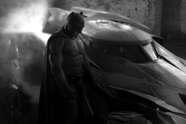 Arte conceitual do novo uniforme do Batman (WARNER BROS./Divulgação)