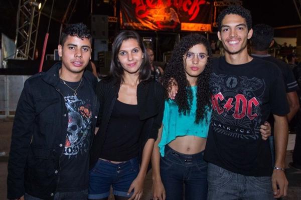 Jonathan Santana, Jaciara Rodrigues, Raiana Andrade e Gregório Gabriel (Rômulo Juracy/Esp.Cb/D.A Press)