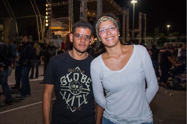Rafael Mourão e Cristiane Prado  (Rômulo Juracy/Esp.Cb/D.A Press)