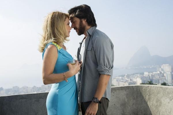 Personagens Pamela e Herval, de Claudia Abreu e Ricardo Tozzi, na novela Geração Brasil (Estevam Avellar/TV Globo)