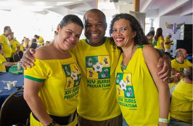 Ana Cláudia Soares, Genivaldo Miranda e Elizabethe Moreira (Romulo Juracy/Esp. CB/D.A Press)