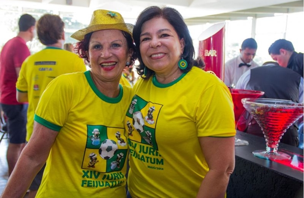 Lenita Santa Cruz e Clotilde de Paula (Romulo Juracy/Esp. CB/D.A Press)