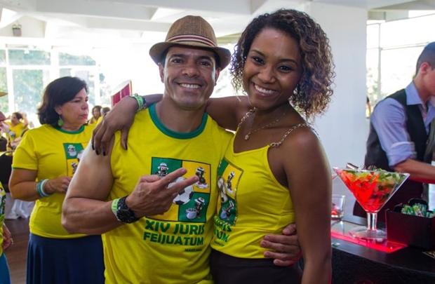 Edson Lacerda e Vanessa Trindade (Romulo Juracy/Esp. CB/D.A Press)