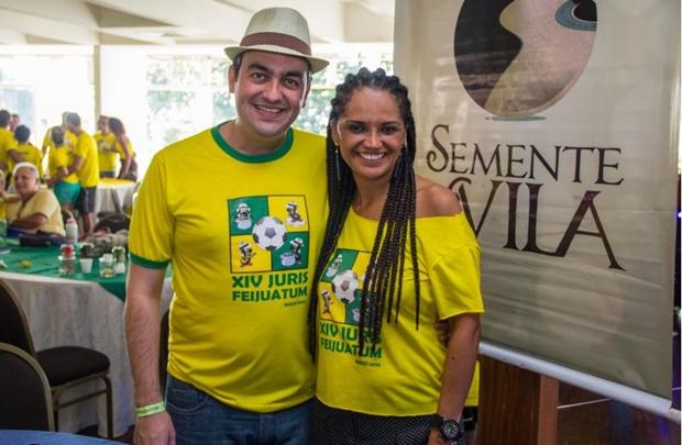 Johaben Camargo e Ellen Fortes (Romulo Juracy/Esp. CB/D.A Press)