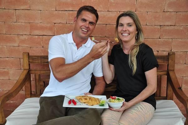 Fábio e Laura Gregol: tilápia para o Dia dos Namorados (Paula Rafiza/Esp. CB/D.A Press)