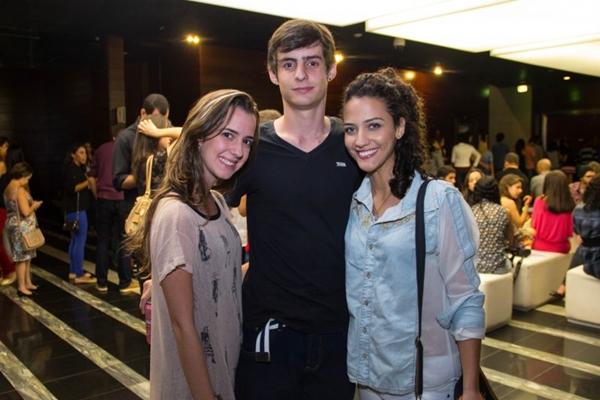 Mariana Lacerda, Rafael Crescenti e Viviane Martins  (Romulo Juracy/Esp. CB/D.A Press)