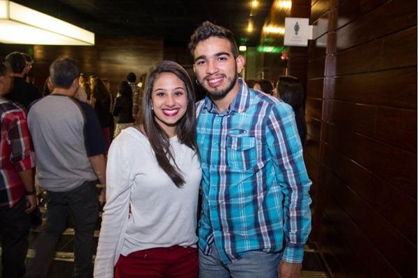 Aissa Amin e Marcus Alves (Romulo Juracy/Esp. CB/D.A Press)
