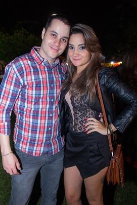 Rodrigo Faria e Gabriela Aleixo ( Romulo Juracy/Esp. CB/D.A Press)