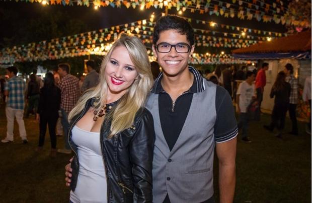 Mariana Schaefer e Erick Bastos ( Romulo Juracy/Esp. CB/D.A Press)