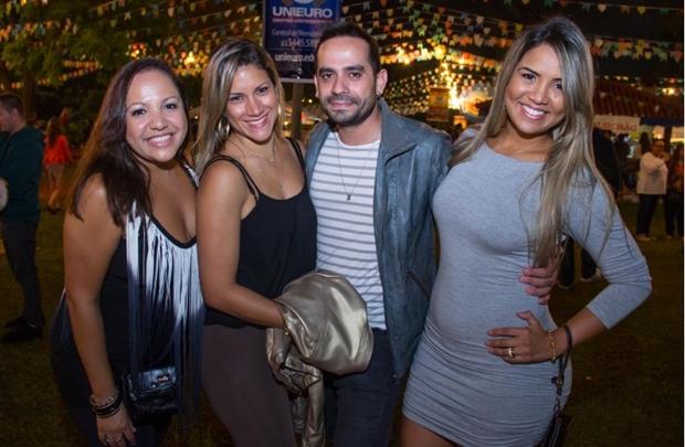 Luana Oliveira, Stephane Farture, Marco Túlio e Lorena Oliveira ( Romulo Juracy/Esp. CB/D.A Press)
