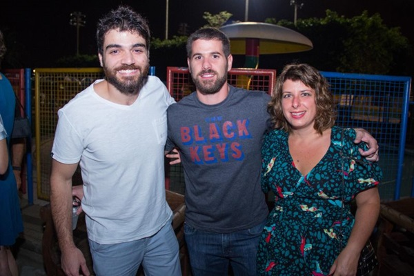Henrique Amarate, Guilherme Miquelutti e Milene Migliano  (Romulo Juracy/Esp. CB/D.A Press)
