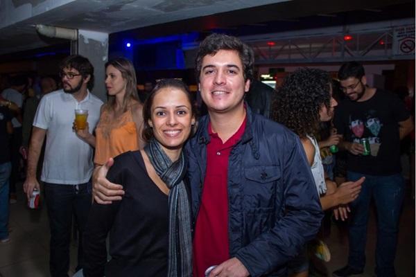 Sandra Maximiano e Gabriel Delgado  (Romulo Juracy/Esp. CB/D.A Press)