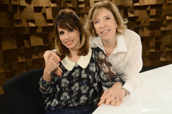 Na entrevista ao programa do GNT, Maria Ribeiro falou sobre projetos da carreira  (GNT/Divulgação)