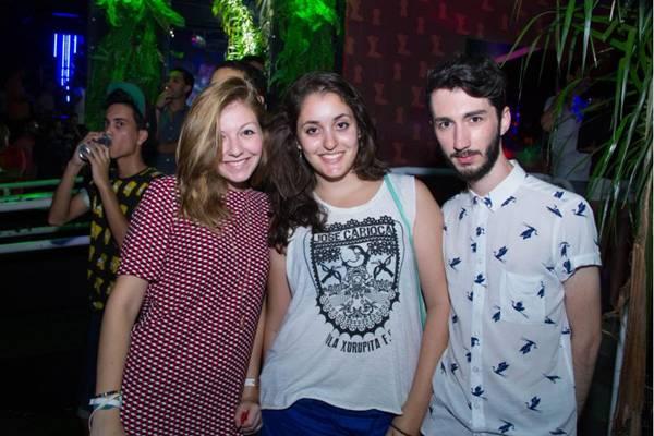 Amanda Leite, Ana Clara Daher e Giovanni Cristofeher (Romulo Juracy/Esp. CB/D.A Press)