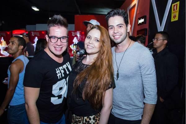 Daniel Augusto, Raquel Tavares e Daniel Milhomem (Romulo Juracy/Esp. CB/D.A Press)