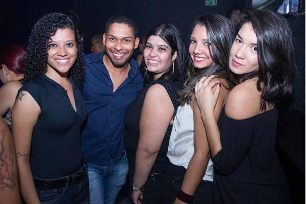 Nayane Cristine, Jefferson Rammos, Ana Paula, Juliana Silveira e Letícia Mendes (Romulo Juracy/Esp. CB/D.A Press)