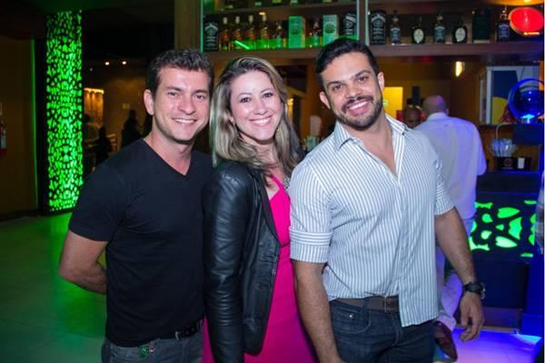 Nelson Moura, Simone Dutra e Marcos Dourado (Romulo Juracy/Esp. CB/D.A Press)