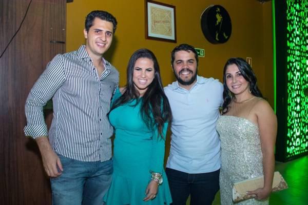 Hugo Lima, Liliana Lima, Antônio Avelar e Alessandra Tobias (Romulo Juracy/Esp. CB/D.A Press)