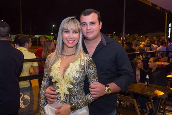 Letícia Trindade e Tiago Jesae (Romulo Juracy/Esp. CB/D.A Press)