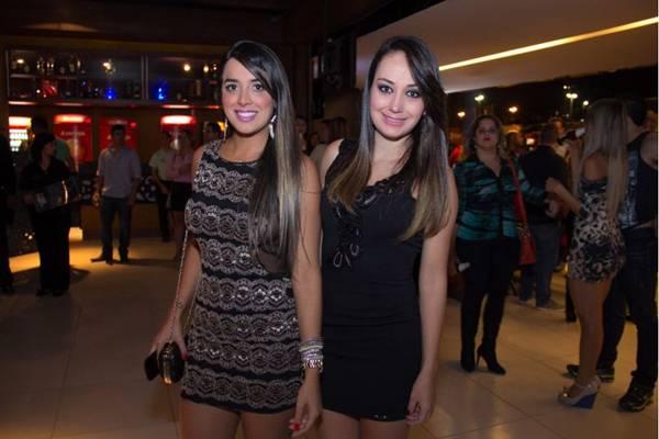 Pollyana Amaral e Aldilene Cardoso (Romulo Juracy/Esp. CB/D.A Press)