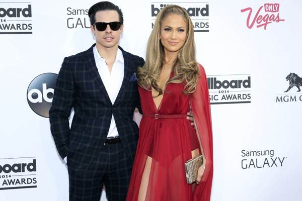 Casper Smart e Jennifer Lopez estão juntos há três anos (L.E. Baskow/Reuters)