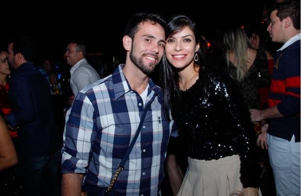 Leonardo Alencar e Patricia Vieira (Romulo Juracy/Esp. CB/D.A Press)