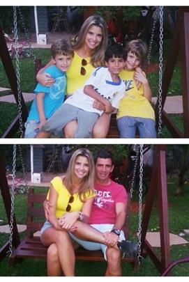 Jogador aproveita o fim de semana com a família  (Arquivo Pessoal)