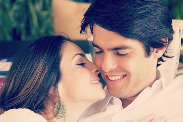 Rumo aos 9 anos de casamento, Kaká e Carol passam muito tempo separados em função das viagens do jogador (Instagram/Reprodução)