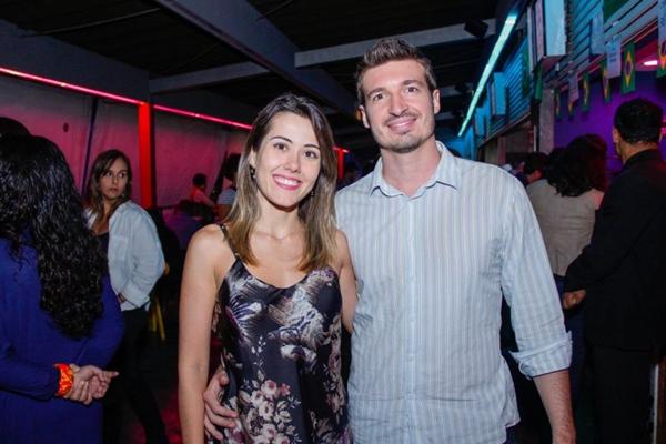 Luana Loshi e Conrado Frizza (Romulo Juracy/Esp. CB/D.A Press)