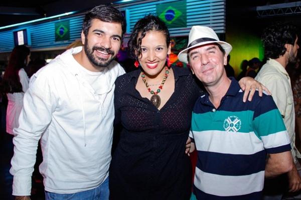 Thiago Faros, Aryane Sanches e Marcelo Fonteles (Romulo Juracy/Esp. CB/D.A Press)