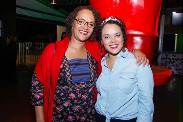 Angela Nascimento e Isadora Freire (Romulo Juracy/Esp. CB/D.A Press)