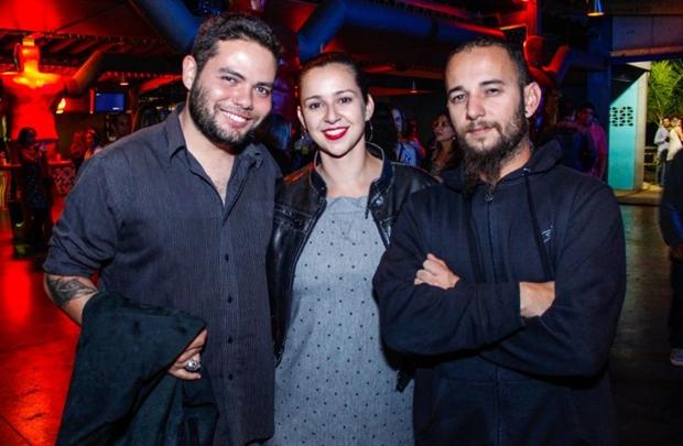 Waldir Medeiros, Carol Villa Lobos e Leonardo Lima (Romulo Juracy/Esp. CB/D.A Press)