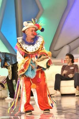 Durante o período na emissora, Russo trabalhou ao lado de Chacrinha, Xuxa e Luciano Huck (Thiago Prado Neris/TV Globo)