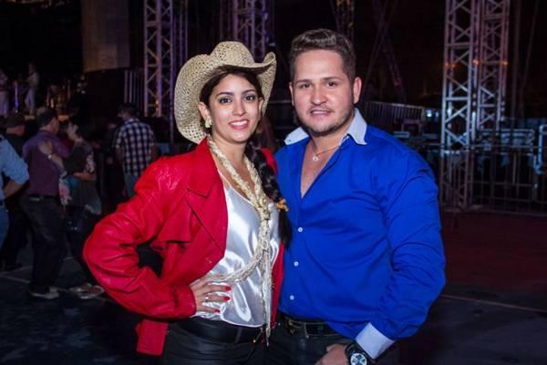 Laissa Cabral e Joao Paulo Menezes (Romulo Juracy/Esp. CB/D.A Press)
