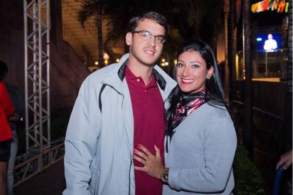 Hugo Cesar e Marilia Morais (Romulo Juracy/Esp. CB/D.A Press)