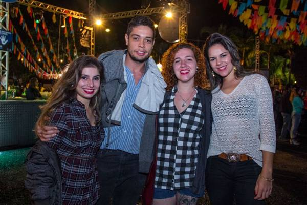 Julia Franco, Alexandre Lima, Cassia Marquez e Jessica Kitahara (Romulo Juracy/Esp. CB/D.A Press)